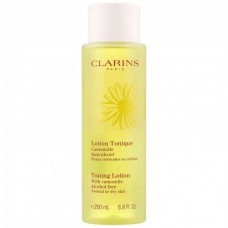 Clarins Toning Lotion With Camomile Alcohol-Free for Normal/Dry Skin 200ml
