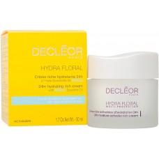 Decleor Hydra Floral 24hr Hydrating Rich Cream with Neroli Oil 50ml