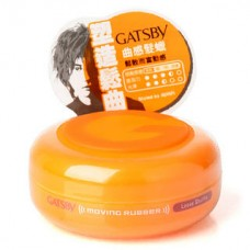 Gatsby Moving Rubber Loose Shuffle Hair Wax 80G