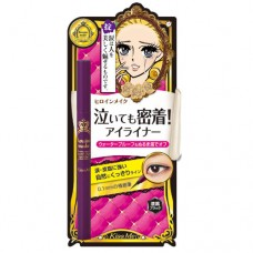 Kiss Me Heroine Make Smooth 0.1mm Liquid Eyeliner WP Black