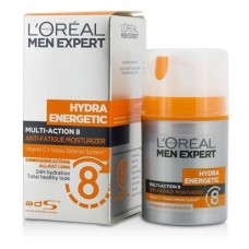 L'Oreal Men Expert Hydra Energetic Multi-Action 8 Anti-Fatigue Moisturizer 50ml