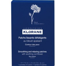 Klorane Smoothing n Relaxing Patches With Cornflower 14 patchs