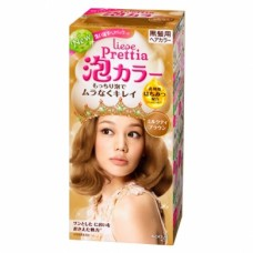 Kao Prettia Liese Bubble Hair Color Milk Tea Brown