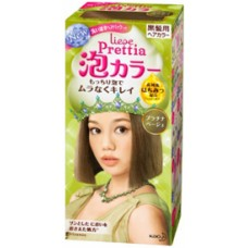 Kao Japan liese Prettia Bubble Hair Color Platinum Beige