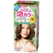 Kao Prettia Liese Bubble Hair Color Ash Brown